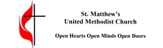 St Matthews United Methodist Church logo