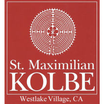 St. Maximilian Kolbe Catholic Church logo