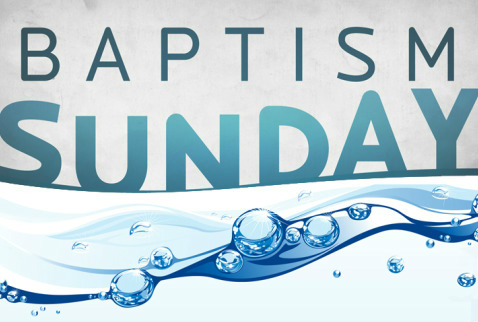 The gallery for --> Water Baptism Sunday