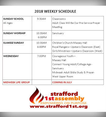 Strafford 1st Assembly of God / Upcoming Events / Upcoming Events