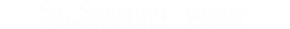 St. Stephen Lutheran Church logo