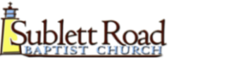 Sublett Road Baptist Church logo