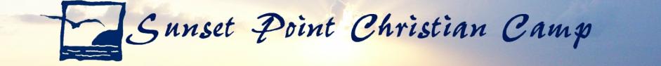 Sunset Point Christian Camp  logo