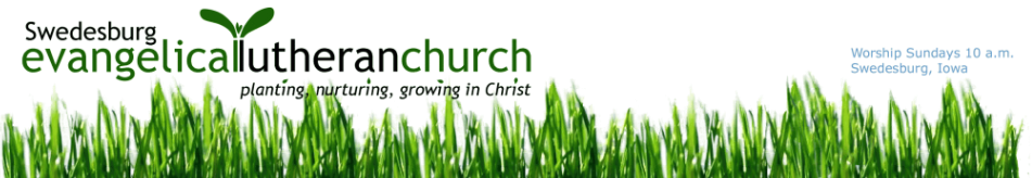 Swedesburg Evangelical Lutheran Church logo