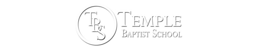 Temple Baptist School logo