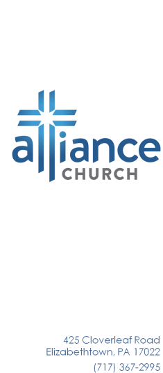 Alliance Church logo