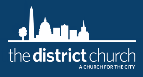 The District Church logo
