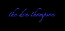 The Don Thompson Chorale logo