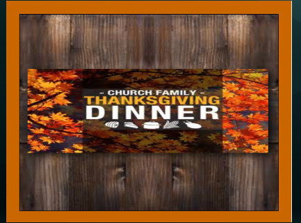 The Fellowship Lubbock Events Bible Studies Thanksgiving Dinner