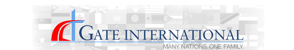 The Gate International logo