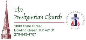 The Presbyterian Church of Bowling Green,  KY logo