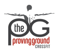 The Proving Ground CrossFit | CrossFit Gym in Baton Rouge | Louisiana's Premier Strength and Conditioning Organization | TPG CrossFit | Personal Training | Fitness Gym logo