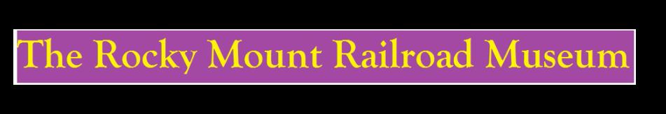 The Rocky Mount Railroad Museum logo