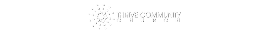 THRIVE COMMUNITY CHURCH, CARINGBAH -- IN THE SUTHERLAND SHIRE - - SYDNEY logo