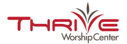 Thrive Worship Center logo
