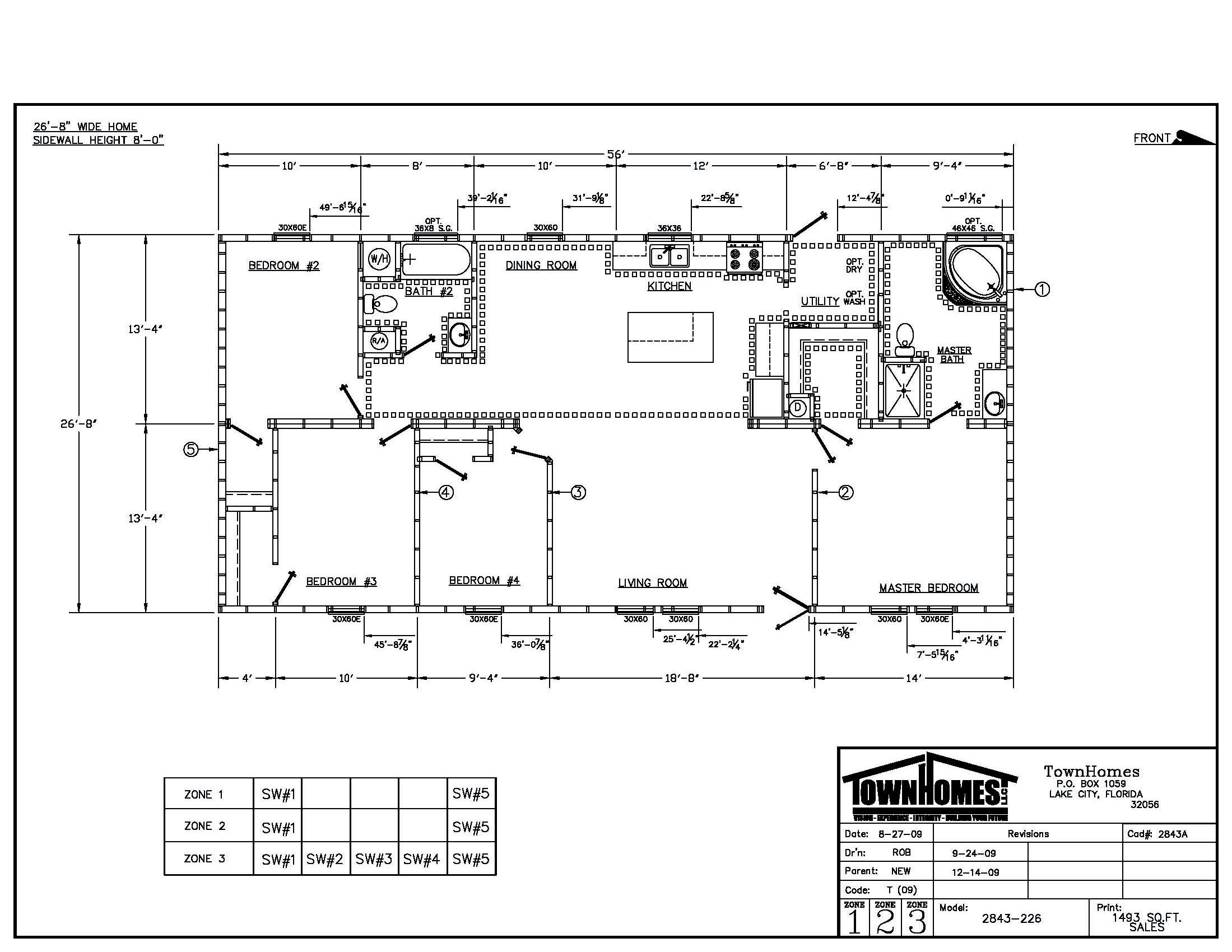 Townhomes floorplans floor plans for 28x40 house plans