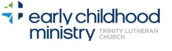 Trinity Lutheran Church Early Childhood Ministry logo