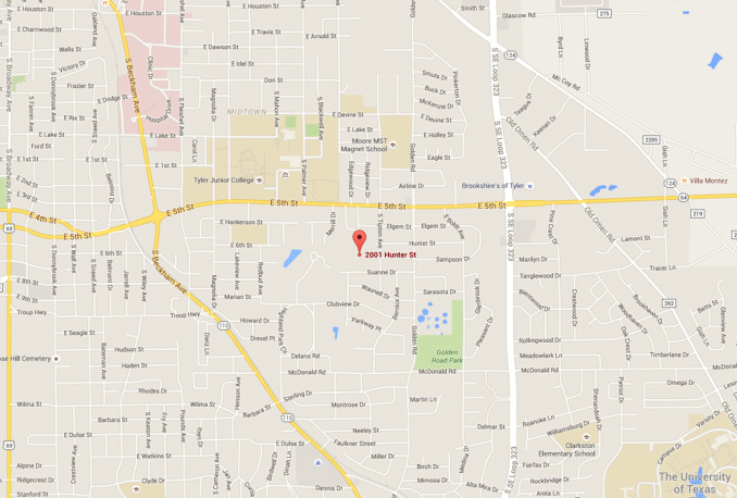 Map Of Texas Lutheran University.Trinity Lutheran Church Early Childhood Ministry Contact Map Map