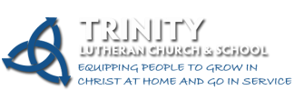 Trinity Lutheran Church & School logo