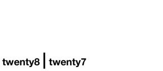 twenty8 | twenty7 logo