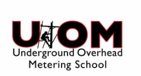 Underground Overhead Metering School logo