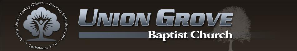 Union Grove Baptist Church logo