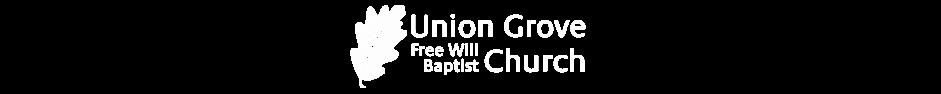 Union Grove Free Will Baptist Church ~ Atkins AR logo