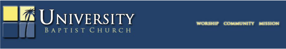 University Baptist Church logo