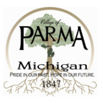 Village of Parma, MI logo