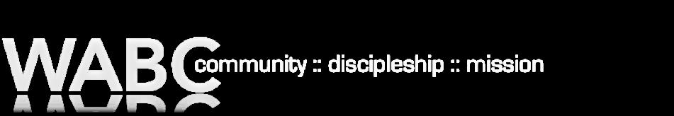 WABC :: Community • Discipleship • Mission logo