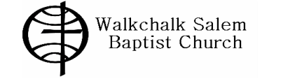 Walkchalk Salem Baptist Church logo