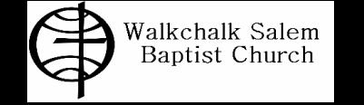 Walkchalk Salem Baptist Church logo