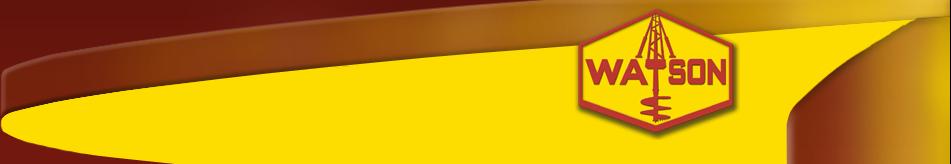 Watson Drill Rigs logo