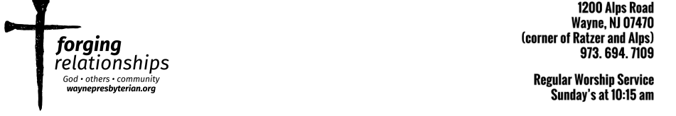 WAYNE PRESBYTERIAN CHURCH logo