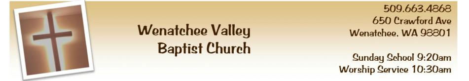 Wenatchee Valley Baptist Church logo