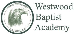 Westwood Baptist Academy logo