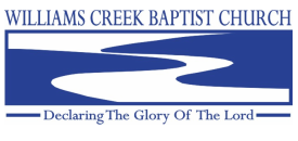 Williams Creek Baptist Church logo