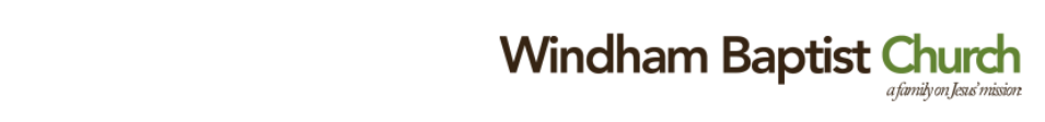 Windham Baptist Church logo