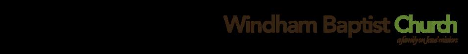 Windham Baptist Church logo