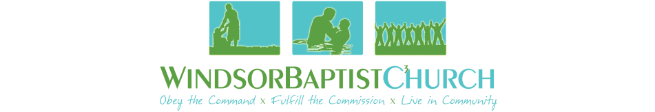 Windsor Baptist Church, Imperial, MO logo