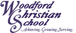 Woodford Christian School logo