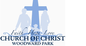 Woodward Park Church of Christ logo