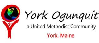 York Ogunquit UMC logo